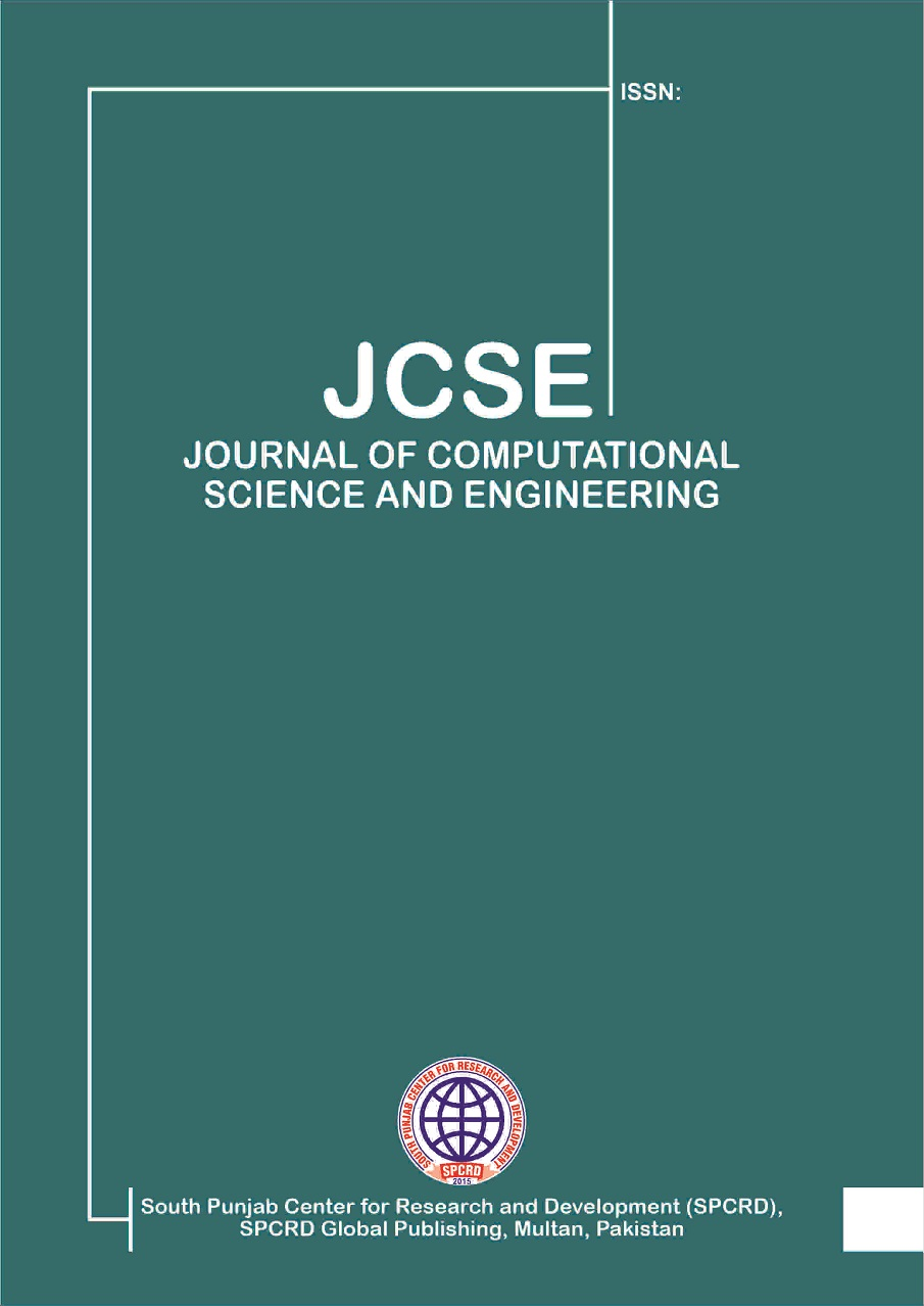 View Vol. 2 No. 1 (2020): Journal of Computational Science and Engineering